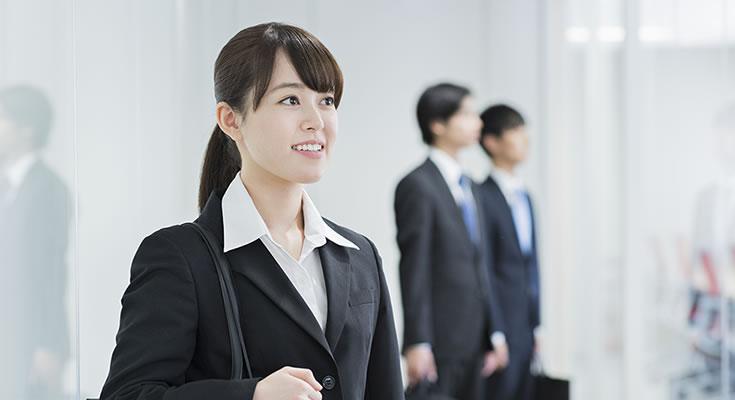 写真:新入社員イメージ