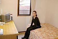 写真:シングル室内