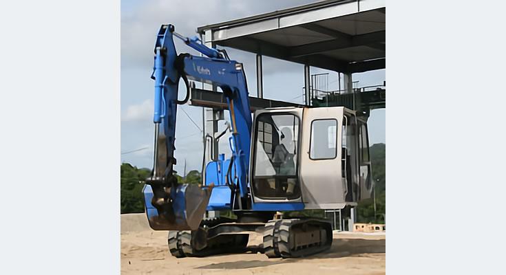 写真:車両系建設機械(整地等)
