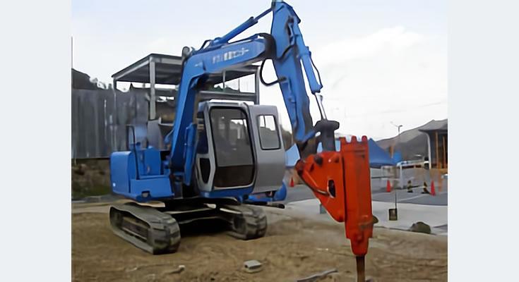 写真:車両系建設機械(解体)